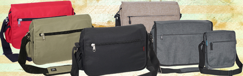 Wholesale Messenger Bags, Book Bags, School Messenger Briefcases