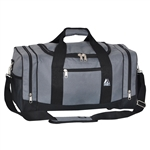 #020/DARK GRAY BLACK/CASE - 20-inch Duffel Bag - Case of 20 Duffel Bags