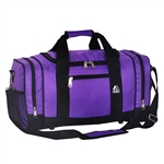 #020/DARK PURPLE BLACK/CASE - 20-inch Duffel Bag - Case of 20 Duffel Bags