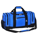 #020/ROYAL BLUE BLACK/CASE - 20-inch Duffel Bag - Case of 20 Duffel Bags