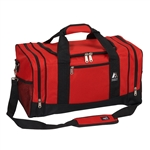 #020/RED BLACK/CASE - 20-inch Duffel Bag - Case of 20 Duffel Bags