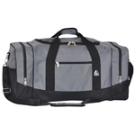 #025/DARK GRAY BLACK/CASE - 25-inch Duffel Bag - Case of 20 Duffel Bags
