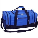 #025/ROYAL BLUE/CASE - 25-inch Duffel Bag - Case of 20 Duffel Bags