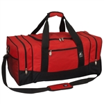 #025/RED BLACK/CASE - 25-inch Duffel Bag - Case of 20 Duffel Bags