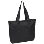 #1002DS/BLACK/CASE - Large Tote Bag - Case of 40 Large Tote Bags