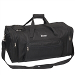 #1005MD/BLACK/CASE - 25-inch Duffel Bag - Case of 20 Duffel Bags