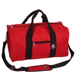 #1008D/RED/CASE - 19-inch Duffel Bag - Case of 30 Duffel Bags