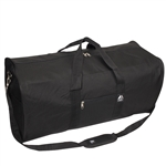#1008LD/BLACK/CASE - 30-inch Duffel Bag - Case of 30 Duffel Bags