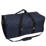 #1008LD/NAVY/CASE - 30-inch Duffel Bag - Case of 30 Duffel Bags