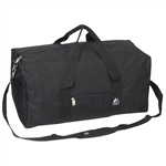 #1008MD/BLACK/CASE - 24-inch Duffel Bag - Case of 30 Duffel Bags