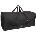 #1008XLD/BLACK/CASE - 36-inch Duffel Bag - Case of 20 Duffel Bags