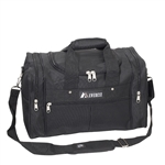 #1015/BLACK/CASE - 17.5-inch Travel Gear Duffel Bag - Case of 20 Duffel Bags