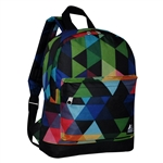 #10452P/PRISM/CASE - Mini Pattern Backpack with Front Zippered Pocket - Case of 30 Backpacks