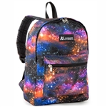 #1045KP/GALAXY/CASE - Basic Pattern Backpack - Case of 30 Backpacks