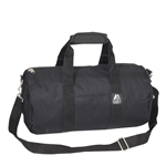 #16P/BLACK/CASE - 16-inch Round Duffel Bag - Case of 40 Duffel Bags