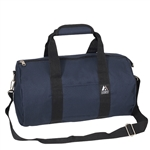 #16P/NAVY/CASE - 16-inch Round Duffel Bag - Case of 40 Duffel Bags