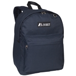 #2045CR/NAVY/CASE - Classic Backpack - Case of 30 Backpacks