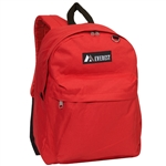 #2045CR/RED/CASE - Classic Backpack - Case of 30 Backpacks
