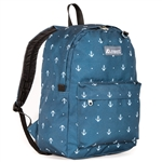 #2045P/ANCHOR/CASE - Classic Pattern Backpack - Case of 30 Backpacks