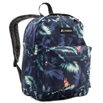 #2045P/DARK TROPIC/CASE - Classic Pattern Backpack - Case of 30 Backpacks