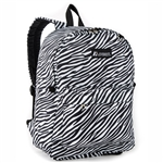 #2045P/ZEBRA/CASE - Classic Pattern Backpack - Case of 30 Backpacks