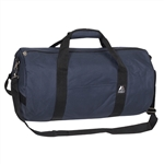 #20P/NAVY/CASE - 20-inch Round Duffel Bag - Case of 40 Duffel Bags