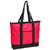 #1002DS-HOT PINK - Large Tote Bag