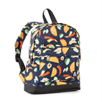 #10452P - Small/Junior Pattern Backpack with Front Zippered Pocket