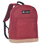 #1045GL - Suede Bottom Backpack