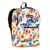#1045KP-TROPICAL - Basic Pattern Backpack