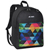 #2045P - Classic Pattern Backpack w/ Large main compartment