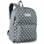 #2045P-GRAY/WHITE DOTS - Classic Pattern Backpack