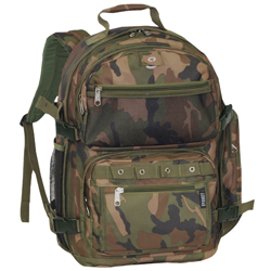 #3045RCAMO - Oversized Camo Backpack
