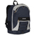 #3045SH - Two-Tone Backpack with Mesh Pockets