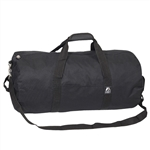 #23P/BLACK/CASE - 23-inch Round Duffel Bag - Case of 40 Duffel Bags