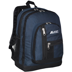 #5045 - Double Compartment Backpack with Organizer