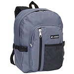 #5045SC - Backpack with Front Mesh Pocket
