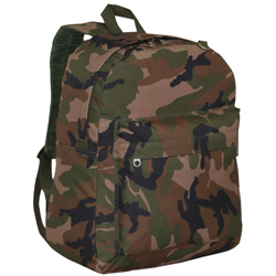 #C2045CR - Woodland Camo Classic Backpack