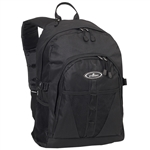 #3045W/BLACK/CASE - Large Storage Backpack with Organizer - Case of 30 Backpacks