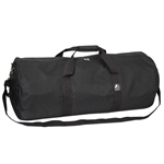 #30P/BLACK/CASE - 30-inch Round Duffel Bag - Case of 20 Duffel Bags