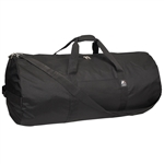 #36P/BLACK/CASE - 36-inch Round Duffel Bag - Case of 20 Duffel Bags