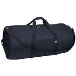 #36P/NAVY/CASE - 36-inch Round Duffel Bag - Case of 20 Duffel Bags