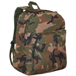 #C2045CR/WOODLAND CAMO/CASE - Classic Camouflage Backpack - Case of 30 Backpacks