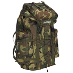 #C8045D/WOODLAND CAMO/CASE - Camouflage Hiking Backpack - Case of 10 Hiking Backpacks