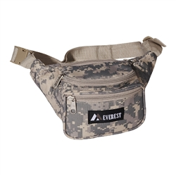#DC044KD/DIGITAL CAMO/CASE - Digital Camouflage Waist Pack - Case of 50 Waist Packs