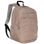 #R5045LT/TAN/CASE - Stylish Backpack with Laptop Storage - Case of 20 Backpacks