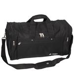 #S219/BLACK/CASE - 21-inch Deluxe Duffel Bag - Case of 20 Duffel Bags